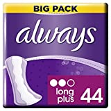 Always Dailies Fresh and Protect Long Plus 44 Panty Liners