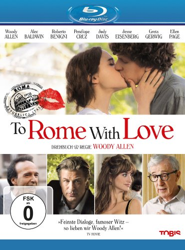 To Rome with Love [Blu-ray]
