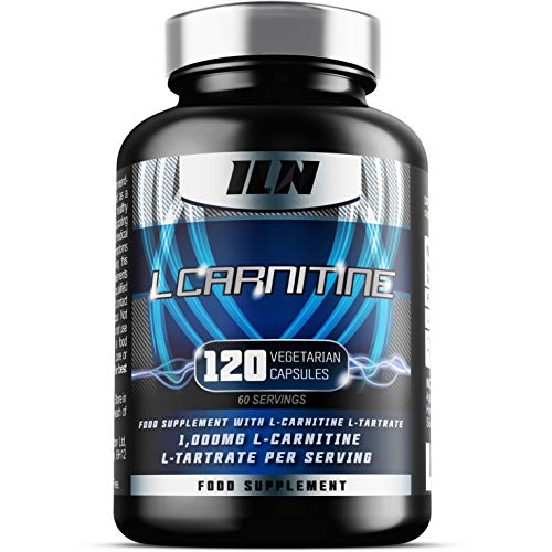 51daND7tmCL. SS500  - Iron Labs Nutrition, L Carnitine Xtreme - 500mg x 120 Capsules - L Carnitine Tartrate Supplement, Vegetarian Capsules