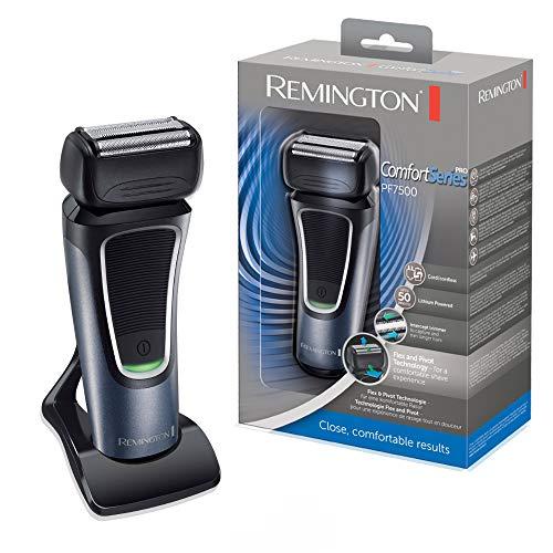 Remington Folienrasierer ComfortSeries Pro PF7500, Triple-Shave-Technologie, schwarz/grau