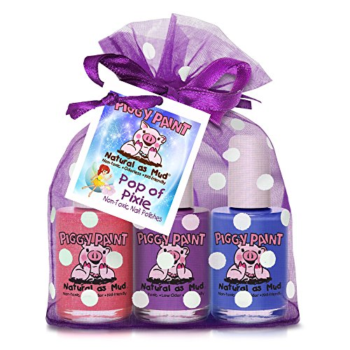 Piggy Paint ungiftig Mädchen Nail Polish Pop Of Pixie 3 Pack Geschenkset - Nail Polish Beauty Pop