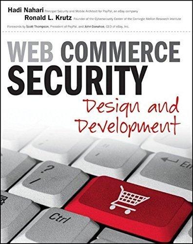 Web Commerce Security: Design and Development by Hadi Nahari (2011-04-26) par Hadi Nahari;Ronald L. Krutz