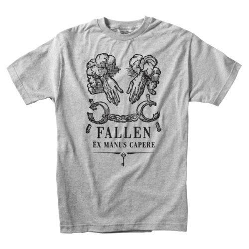 FALLEN T-Shirt FREEDOM Premium S/S heather silver