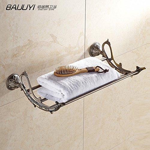 Antike Handtuchhalter Handtuchhalter Alle Kupfer Pol Badezimmer Anhänger Badezimmer Hardware Anhänger Set Blume Open Shore Serie Handtuchhalter -