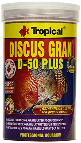 Tropical Discus Gran D-50 Plus, 1er Pack (1 x 1 l) -