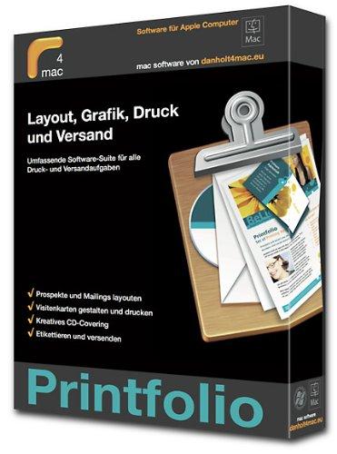 Printfolio: Layout, Grafik, Druck und Versand. Umfangreiche Software-Suite für alle Druck- und Versandaufgaben
