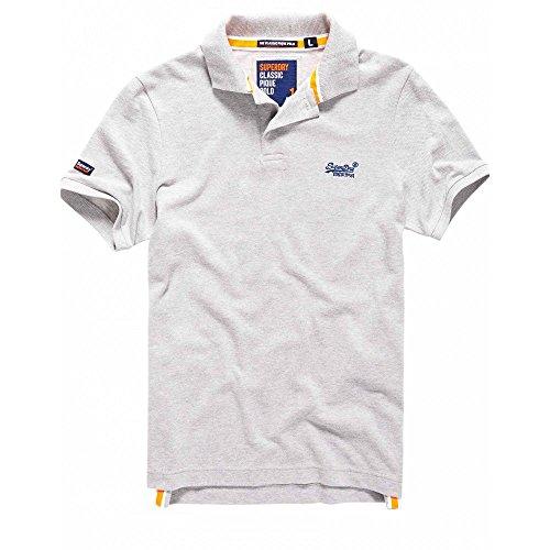 Superdry Herren Poloshirt Classic New Grau