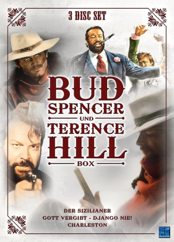 Bud Spencer & Terence Hill - Box Volume 3 (Der Sizilianer/Gott vergibt - Django nie/Charleston) [3 DVDs]