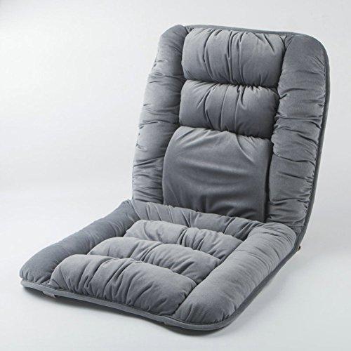 M&X Sitzkissen mit Gurt   Für steißbein,Back,Hüfte & Bein Schmerzen   Für autofahrer,Büro-stühle,Rollstühle   Memory-Schaum,Atmungsaktiv waschbar-B 45x90cm(18x35inch)
