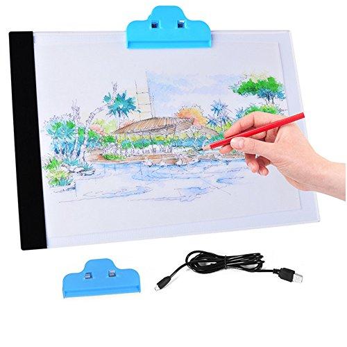 led-artist-fine-art-pochoir-planche-a-dessin-tracage-de-boite-a-lumiere-table-pad-a-la-main-des-outi