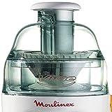 Moulinex Vitae JU200045 - Licuadora compacta (200 W, velocidad de 12800 rpm, tapa y contenedor de pulpa transparentes, filtro de Inox compatible con lavavajillas)