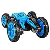 Gutyan Voiture Télécommandée Kids Rc Stunt Car Toy Télécommande Voiture De Course Double Face Flips avec LED Lumières Conduite Voitures Jouets pour Enfants