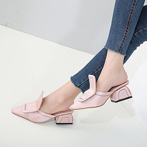 Mädchen Cowboy-stiefel Für Rosa (Das neue stilvolle wies High Heels Mädchen, Rosa 35)