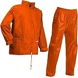 Lyngsoe LR104054/05/M Set de pluie Veste/Pantalon Taille M Fluo Orange