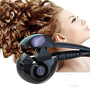 Arricciacapelli - Salon Perfessionale – Smart Arriccciatore Automatico Ionico Piastra Arricia Capelli Ultra Veloce Corpo Ceramico , Effetto Riccio Onde Ondulato Bigodini