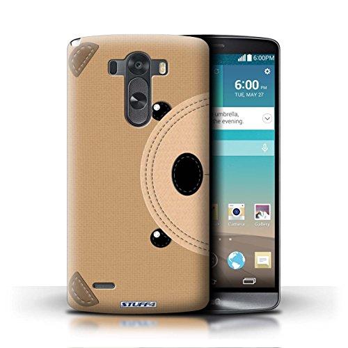 iChoose® Print Motif Coque de protection Case / Plastique manchon de telephone Coque pour Apple iPhone 5/5S / Collection Cousu des Animaux Effet / Requin Ours