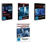Paranormal Activity 1-4 im Set - Deutsche Originalware [4 DVDs]