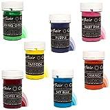 Sugarflair gemischte Sets – Pastellfarben Lebensmittelfarbe – Discount-Gruppe Pack Spar-Pack Rainbow Set of 7