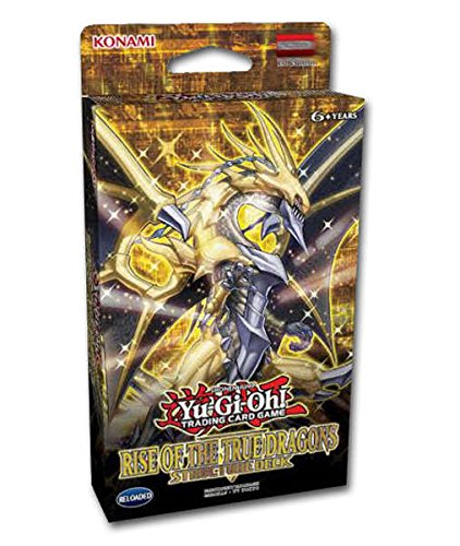 Yu-Gi-Oh! 449035 Structure Deck Rise of The True Dragons Deutsch, Puzzle (Drachen Yugioh Deck)
