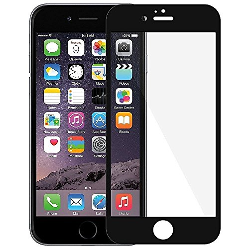 Apple Iphone 7 3D Edge To Edge Full Front Body Tempered Glass Protector Black