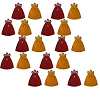 Descrizione: 100% nuovo e di alta qualità  Queste sono colorate e deliziose cover per uova di pulcino  Grandi borse regalo per Pasqua  Materiale: tessuti non tessuti  Colore: giallo, rosso  specifi...