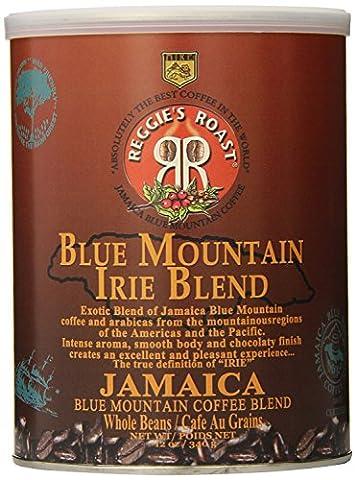 Jamaica Blue Mountain Coffee, Irie Blend Whole Beans Coffee, Tin