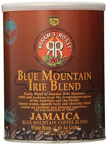 Jamaica Blue Mountain Coffee, Irie Blend Whole Beans Coffee, Tin 340g -