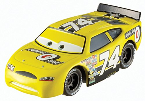 Disney Pixar Cars Diecast Sidewall Shine No.74
