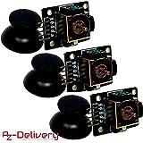 AZDelivery  Lot de 3 Joystick Break Out Module KY-023 pour Arduino UNO R3 (3 x Joy...