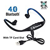#6: Zoyo Sports Bluetooth Headset Headphones Compatible with Samsung, Motorola, Sony, Oneplus, HTC, Lenovo, Nokia, Asus, Lg, Coolpad, Xiaomi, Micromax and All Android Mobiles (With Micro Sd Card Slot and FM Radio) Bluetooth Neckband (Color May Very)