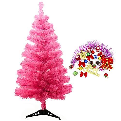 StillCool Albero di Natale artificiale 60cm Decorazione natalizia per la casa con stand tra cui le lanterne volano Babbo Natale Buon Natale