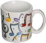 Music Notes Tasse en Céramique