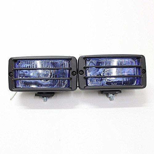 Universal Gitter blau Nebel Spot Lichter Auto Van Pick Up 4x 4Offroad 15,2x 8,6cm E-Prüfzeichen (4x4 Pickup-zubehör)