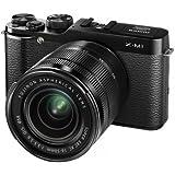 Fujifilm X-M1 kompakte Systemkamera (16 Megapixel, 7,6 cm (3 Zoll) LCD-Display, Full HD, WiFi) inkl. XC 16 - 50mm F3.5-5.6 OIS Objektiv schwarz
