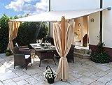 Grasekamp Anbaupergola Luxus 3x4m