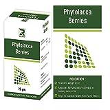 #9: Phytolacca Berries (25gms) Pack of 3, HomeoSlim Tablets
