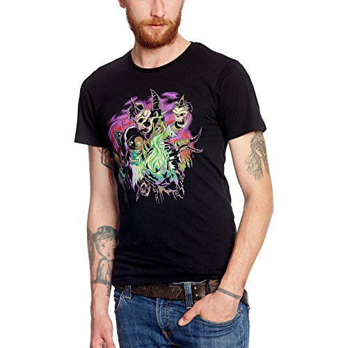Preisvergleich Produktbild World Of Warcraft Legion Destroyer Of T-Shirt schwarz Baumwolle - S