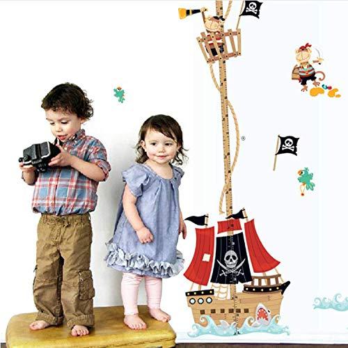 GHUJFDB Poster Adesivo da Parete Telemetro Ragazzi Camera da Letto Home Decor Cartoon Adesivo per Camera dei Bambini Adesivo Baby Mural