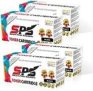 SPS Laser Toner Cartridge Compatible for Brother TN2120 TN360 TN2115 TN2125 TN2150 Black for use in LJ MFC HL