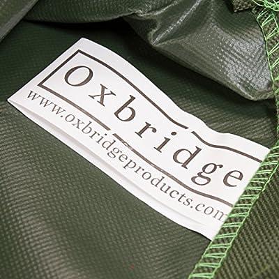 Oxbridge - Abdeckplane für Terrassenöfen/Gartenkamine - Wasserdicht - Grün - 5 Jahre Garantie