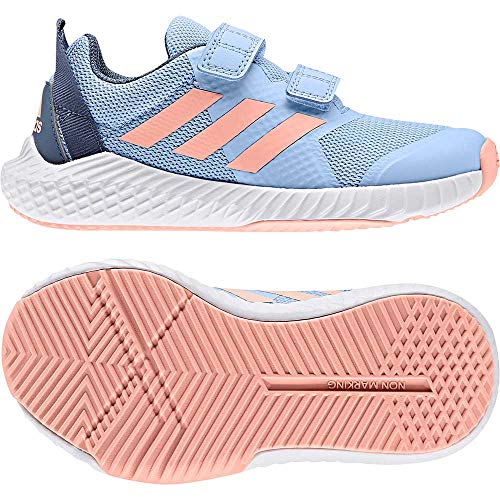 adidas Mädchen FortaGym CF K Sportschuh Größe 35 EU Blau (blau) -