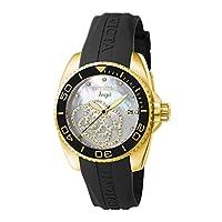Invicta 0489 Angel Reloj para Mujer acero inoxidable Cuarzo Esfera platino de Invicta