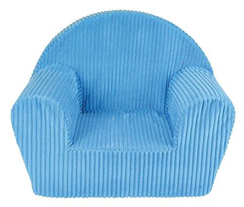 Fun House 712720Silla Club Azul de Espuma para niños Funda 100% poliéster, Espuma 100% Polyether 52x 33x 42cm