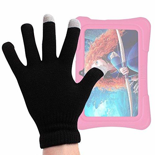 tablet dragon touch DURAGADGET Guanti Capacitivi per Dragon Touch Y88X Plus 7 Pollici | Alldaymall Tablet PC Kid-Proof | Irulu Babypad | JEJA 7 - Taglia