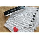 Oye Happy Unique Romantic & Cute Love Letters - 7pc