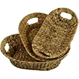 3er Set Körbe Schale Frühstückskorb Dekoschale Aufbewahrungskorb Obst Brot-Korb aus