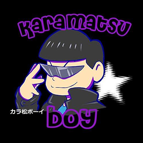 Karamatsu Osomatsu Kun Boy Women's Hooded Sweatshirt Black