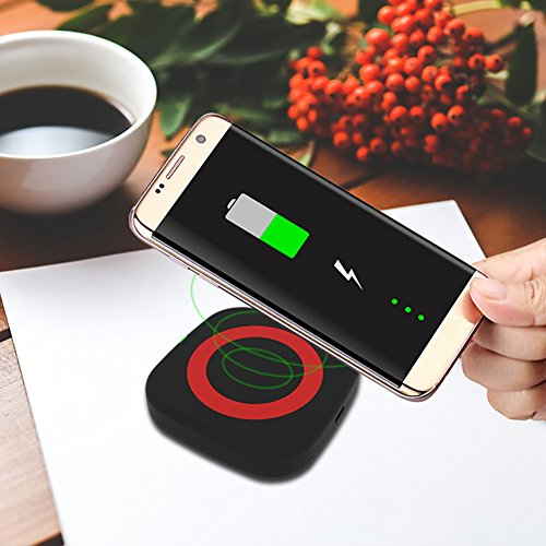 magnetisch Kabelloses Ladegerät Power Bank Ladegerät charger Charging Pad superdünn rutschfeste High Speed Conversion Transmitter für Apple Android Samsung Handys