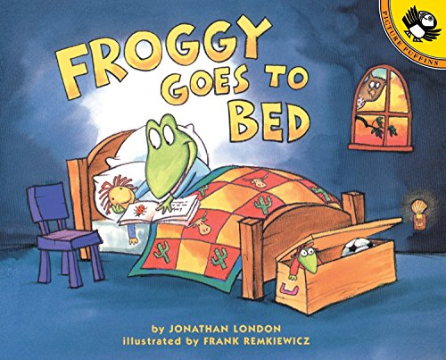 Froggy Goes to Bed por Frank Remkiewicz