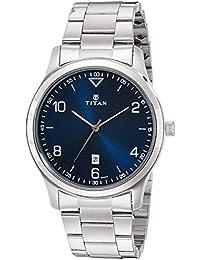 Titan Neo Analog Blue Dial Men's Watch-1770SM03